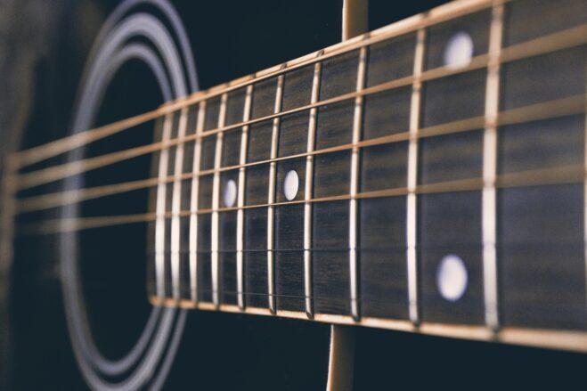 guitar, music, musical