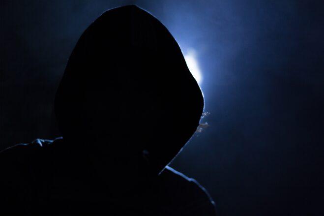 hacker, hood, light