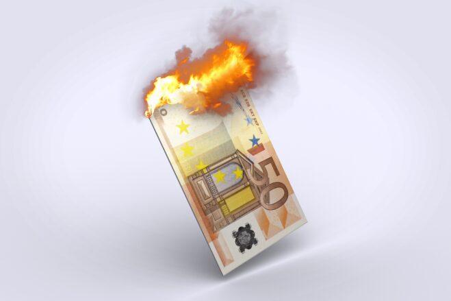euro, money, inflation