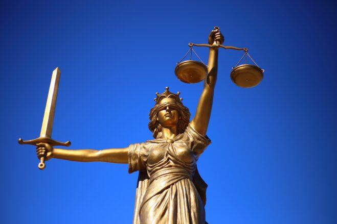 justice, statue, lady justice