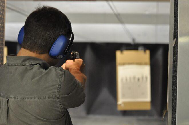 shooting, gun, handgun